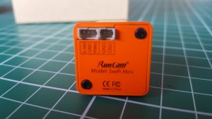 Runcam Swift Mini Achterkant