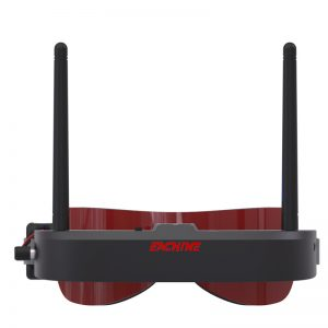 Eachine FPV Goggles Fatshark Style Red Balck